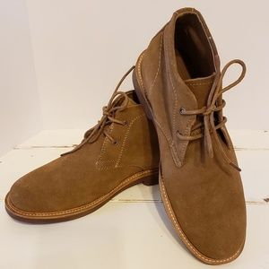 Lands' End Men's Size 8D brown suede boots